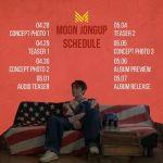 <トレンドブログ>元「B.A.P」ムン・ジョンアプ、ソロアルバムのプロモーションスケジューラーを公開!