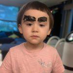 <トレンドブログ>ベントレーくん、眉毛に海苔つけて…クレヨンしんちゃんみたいw