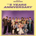 「SEVENTEEN」、今日(26日)デビュー5周年で暖かい寄付…夢見る全ての青春を応援