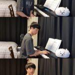BTS(防弾少年団)ジン、新しい趣味ができた…YouTubeライブでピアノ演奏プレゼント