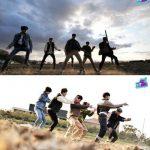 「MONSTA X」、「K-飯STAR」あぜ道ショーケースで新曲「FANTASIA」の舞台を初公開!!