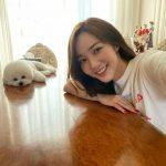 女優パク・ミニョン、伴侶犬との幸せな日常を公開