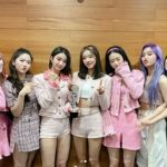 「OH MY GIRL」、デビュー初「ショー!K-POPの中心」1位と音楽番組4冠を記録