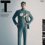 俳優パク・ソジュン、シンガポールのファッション誌に登場=カラースーツも完璧に着こなす