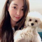 女優キム・サラン、40代とは信じられない若々しい美貌…愛犬とのセルカ公開