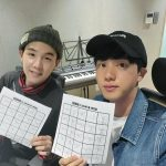"「BTS(防弾少年団)」SUGA&JIN、10代のようなビジュアルで""ラジオ放送"""