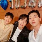 CNBLUEカン・ミンヒョク、ヨンファとジョンシンとの仲良しショット公開…目がくらみそうなビジュアル