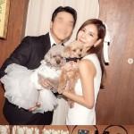 キム・ジュニ、愛犬とウエディングショット公開