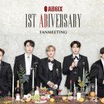 5人組K-POPグループ AB6IX(エイビーシックス)デビュー1周年記念 オンラインファンミーティング ニコニコ生放送終了後、リアリティ番組を日本語字幕で追加放送決定!
