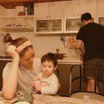 カン・ギョンジュン&チャン・シニョン=頑張りすぎない育児