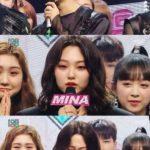 """「ショー!音楽中心」NCT1271位獲得!""""ミナ(gugudan)2年3か月最後のMCで涙"""""""