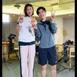 東方神起ユンホ、バレーボールのキム・ヨンギョン選手とのツーショット…新番組出演を予告