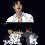 """BTS(防弾少年団)ジン、再契約の感想…""""もっと長く一緒にできて感動""""「BANG BANG CON」"""