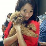 <トレンドブログ>女優シン・ミナ、子犬と一緒にラブリーなまなざしに胸キュン
