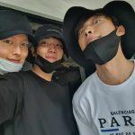 俳優ウ・ドファン、入隊控えてチャン・ギヨン&キム・ギョンナムと集い…イケメンたちの友情