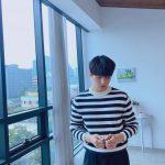 キム・ミョンス(INFINITEエル)、濃い黒髪で彼氏ビジュアル発散…彫刻のようなイケメンさにドキッ!!
