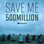 BTS(防弾少年団)「Save ME」のMV 再生5億回突破