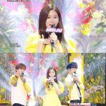 キム・ミンジュ(IZ*ONE)、「音楽中心」MCデビュー…「アロハ」熱唱申告式