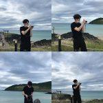 オン・ソンウ、海辺に立っているだけで雑誌のよう…まるでギリシャの彫刻