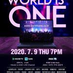 【公式】韓国MBC、7月9日にコロナ克服コンサート「World is ONE」を生中継…イトゥク(SJ)とスンヒ(OH MY GIRL)がMC