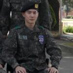 SUHO(EXO)、軍服も消化…新兵教育隊で「中隊長訓練兵」に