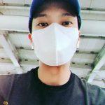 俳優チュウォン、マスクで隠せない目元だけでもイケメンさ爆発
