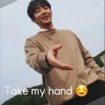 イ・ジュンギ、思わず手を差し出したくなる笑顔…Take my hand