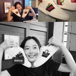 カン・ハンナ、SNSにIUからもらったGUCCIのスニーカーを公開…韓国芸能界を代表する親友同士