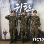 FTISLANDイ・ホンギ、EXOディオ&シウミンら出演陸軍ミュージカル「帰還」、 無期限延期決定