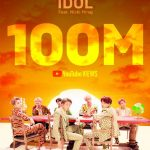 「BTS(防弾少年団)」、「IDOL」MVが1億回突破…韓国歌手最多の通算24作目