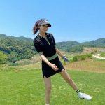 スヨン(少女時代)、ゴルフ場でも目立つ8等身を披露