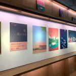 <Wコラム>BTS(防弾少年団)、日本で予約販売がスタートした「GRAPHIC LYRICS」展示風景