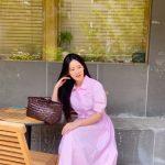 """女優オ・ヨンソ、ピンクワンピースを相性良く消化…""""ますます綺麗になるね"""""""