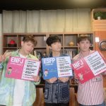 "2PM Jun. K&ウヨン&ニックン、イケメン3人組のキュートな姿…""嬉しくて、泣いて、笑って"""