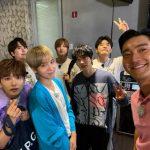 SUPER JUNIORチェ・シウォン「これからも一緒に」…メンバーが集まってカシャ