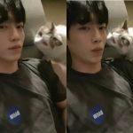 俳優ソ・ガンジュン、愛猫とチュー♥愛あふれる猫執事の日常