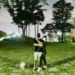 <トレンドブログ>カンナム♥イ・サンファ夫婦仲良く夜の散歩…甘い新婚生活