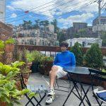 チャン・グンソク、雨上がりの空をバックに爽やかビジュアル