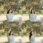 女優パク・ミニョン、小顔+美しい目鼻立ち...清純女神降臨