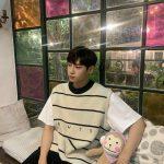 <トレンドブログ>イ・ジンヒョク(UP10TION)、小顔+長い脚に感嘆…天性のアイドル