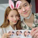 「少女時代」ソヒョン&俳優コ・ギョンピョ、キム・ジュンハンからのカフェカープレゼントに感謝!!