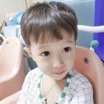 「FTISLAND」チェ・ミンファンの息子ジェユルくん、どんな髪型でもかわいさ爆発!!
