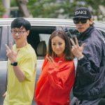 ユ・ジェソク&イ・ヒョリ&Rain(ピ)「SSAK3」、本日(7/25)「音楽中心」に出演…出勤途中をキャッチ