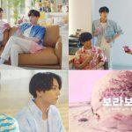 BTS(防弾少年団)、暑さを吹っ飛ばすバスキン・ロビンスのテレビ広告を順次公開