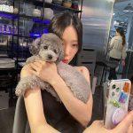 テヨン(少女時代)、愛犬ゼロと幸せな日常...人形ビジュアルまで