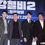 「PHOTO@ソウル」チョン・ウソン×クァク・ドウォン×ユ・ヨンソク映画「鋼鉄の雨2:首脳会談」言論配給試写会
