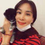 子犬との写真を投稿しただけなのに…女優コ・ソヨン、ペット購入指摘に「正しい方法を探す」