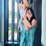 SHIHO&サランちゃん親子、1分ヨガタイム…サランちゃんの成長近況も公開