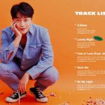 ユン・ドゥジュン(Highlight)、初ソロアルバム「Daybreak」のトラックリスト公開