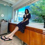 女優イ・ジュヨン、モデルのようなスタイル…本人も驚く足の長さ